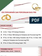 008. Izin Perkawinan dan Perceraian PNS