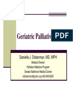 Danielle Doberman Geriatric Palliative Care