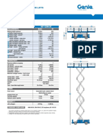 Scissors lift checklist GS-3384RT