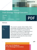 New It Platform From Strategy Through Execution
