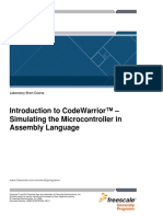 Introducere in Code Warrior