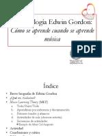 Metodología Edwin Gordon
