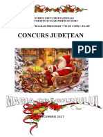 Magia Crăciunului-concurs Judetean