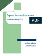 6ª e 7ª lição Genética Comportamental - Denerescência das proteínas neuronais.pdf