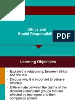 Ethics & Social Responsibility