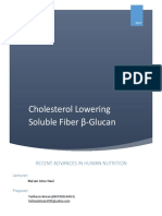 Article Cholesterol Lowering Soluble Fiber Β-Glucan
