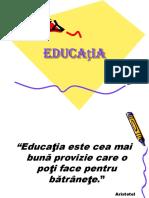 definitii, formele educatiei
