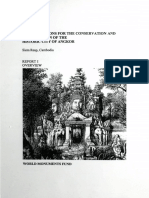 Considerations for the Conservation and Preservation of the Historic City of Angkor Report I