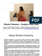 Sheela Chamaria Sculptor Artist India