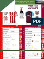 Premier League 171216 round 18 Stoke - West Ham 0-3