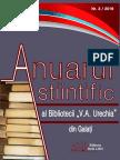 Anuarul ştiintific nr. 3, 2016