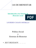Política Social y Sistemas del Bienestar