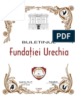 Buletinul Fundaţiei Urechia nr. 17, 2016