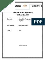 Trabajo Academico Finanzas II