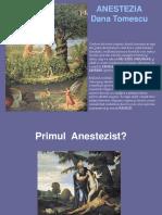 ATI Curs 2 - Anestezia