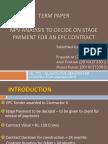 NPV Analysis (Term Paper)