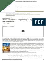 _Dis Le Au Monde_ Le Long Métrage de l'Église Adventiste Sur Son Histoire