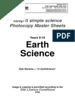 21.EarthScience