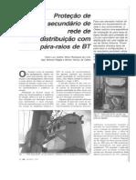 Proteção de Secundário de Rede de Distribuição Com PRBT