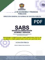 DBC Sacaba 2018