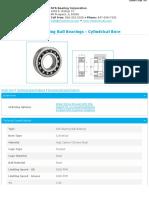 1216-SelfAligningBallBearings-CylindricalBore