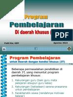 Program Pembelajaran Untuk Daerah Khusus 3T-Prakondisi SM-3T 2015-Paidi