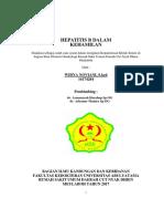 Hepatitis B Dalam Kehamilan