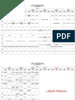 Schedule Blok 5 (Neuroscience 1)
