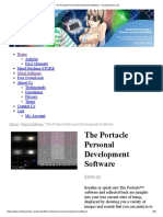 The Portacle Personal Development Software - Mindmachines