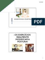Exercícios e Postura