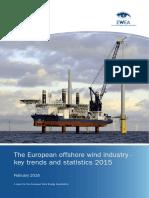 EWEA European Offshore Statistics 2015