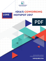 Bangalore | India's Coworking Hotspot 2017 | Report