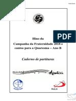 Partituras Oficial Completo Cf 2018 Pk