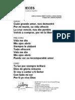 YOU DESERVE - Spanish Official Translation