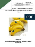 4 HACCP Para Post Coseche de Platano