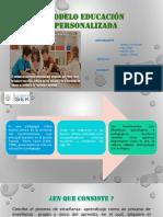 Modelo de Enseñanza Personalizado PPT