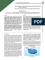 Estudo Da Relevância Da Norma ISO 9001 No Desempenho Das Empresas Portuguesas Do