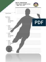 Formulir Pendaftaran Futsal