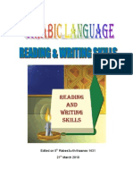Reading Writing Skills of Arabic