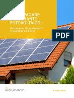 Guida Come Pagare Impianto Fotovoltaico Wolmann
