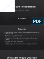 CBrock ITEC 7445 Copyright Presentation