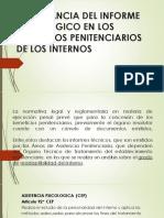 Informe Psicologico en Los Beneficios Penitenciarios Expo