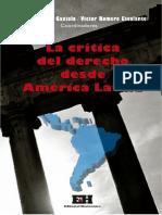 La crítica al Derecho desde América Latina