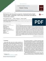 Mechanical and Rheometric Properties of Gilsonite Carbon Black n 2016 Polyme