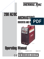 0-4903 Arcmaster 200acdc Ce-opman