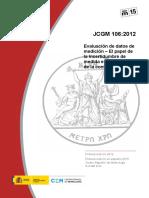 Jcgm2015 El Papel de La Incertidumbre de Medida en La Evaluación de La Conformidad