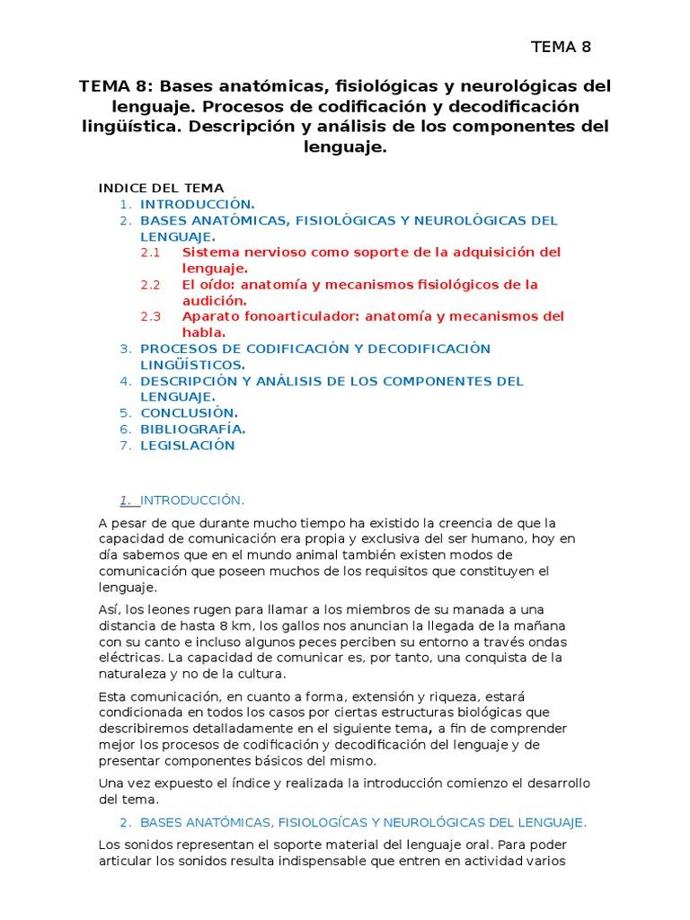 Magnífico Anatomía Y Fisiología De Habla Y Del Lenguaje Y La ...