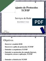 SERVREDES - Aula 2 - Conjunto de Protocolos TCPIP.pdf
