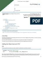 Core Dump Analysis - BOPedia - Wiki@SAP