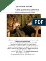 La Parábola de Los Lobos